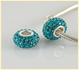 Pave Style Beads