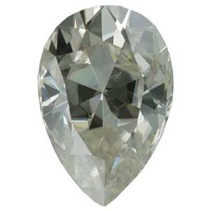 Gemstones > Moissanite > Pear