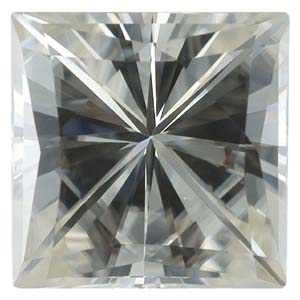 Gemstones > Moissanite > Square (Brilliant Cut)